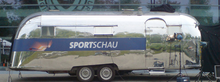 Sportschau Airstream by Classic Caravans - Airstream Partner Nr.1